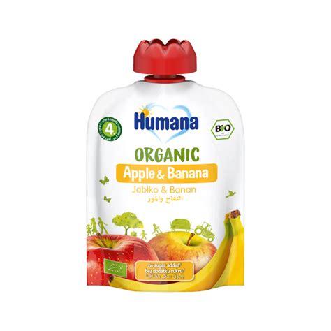 Humana BIO ābolu un banānu biezenis 90g - MPR.LV