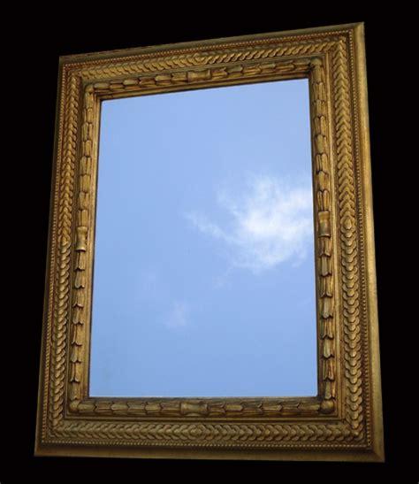 miroir ancien a encadrement dor 233 de style moderne