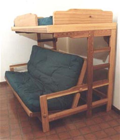 Futon Sofa Bunk Bed by Bedroom Furniture Futon Bunk Bed Sofa Combo Plan