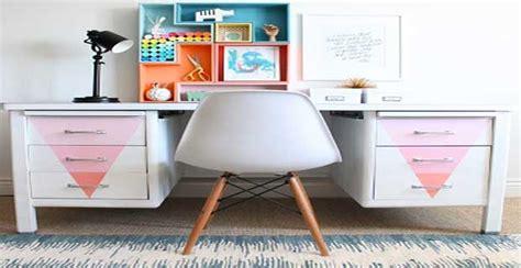peindre bureau diy déco repeindre un vieux bureau en métal deco cool