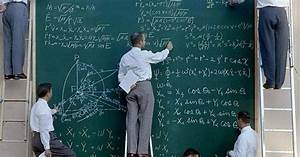 NASA in 1960. Chalkboard instead of whiteboard ...