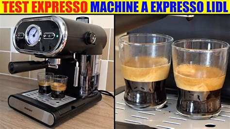 Machine A Expresso Machine A Expresso Silvercrest Lidl Sem 1100 Test Espresso Machine Espressomaschine