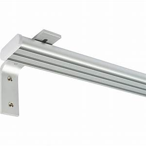 Gardinenschiene Mit Blende : gardinenschiene aluminium 180 cm l nge online bei ~ Watch28wear.com Haus und Dekorationen