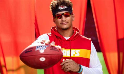 patrick mahomes plastered   times square  oakley