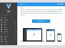 Vuetify Material Component Framework for Vuejs 2