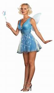 True Blue Sexy Fairy Costume - Mr. Costumes