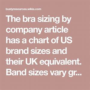Bra Sizing By Country Bra Sizes Bra Chart