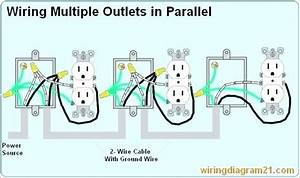 Multiple Gfci Outlet Wiring Diagram Wiring Multiple Outlets Diagram Wiring Diagram Multiple Home