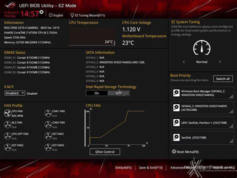 Asus Modified Bios Repository by Asus Rog Strix Z370 E Gaming 7 Uefi Bios Impostazioni