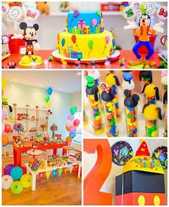 Mickey Mouse and Friends Birthday Party with Lots of ...
