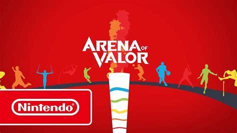 arena  valor trailer nintendo switch youtube