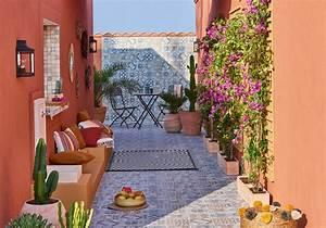 45 idees deco pour s39amenager une terrasse canon elle With photo amenagement terrasse exterieur 15 amenager un jardin en longueur conseils astuces idees