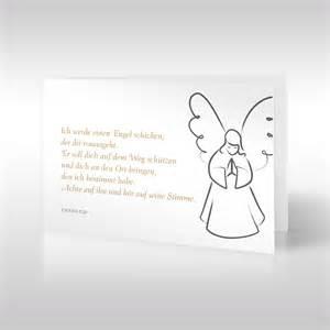 trauersprüche engel beileidskarten engel der obhut