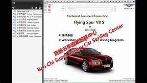 Bentley Flying Spur Workshop Repair Manual  Wiring Diagram