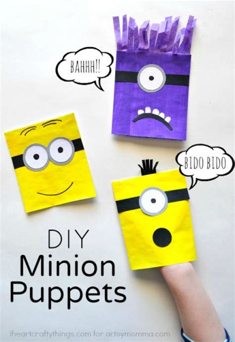 minions crafts  kids  love despicable   sew