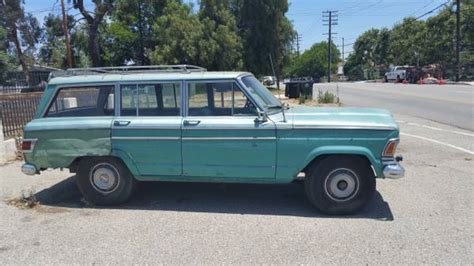 1971 jeep wagoneer 1971 jeep grand wagoneer 401 v8 auto for sale in