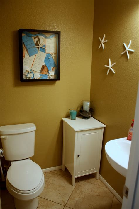 half bathroom decor ideas newlyweds next door town home tour stair decor half