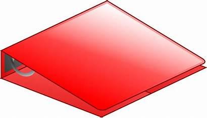 Clipart Binder Folder Office Stack Transparent Binders