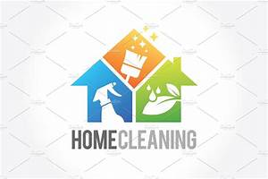Cleaning Service Business logo ~ Logo Templates ~ Creative ...