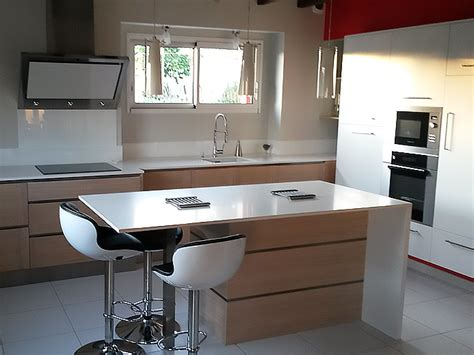 amenagement cuisine ilot central élégance bois artisan créateur cuisine salle de bain dressing et aménagement d 39 intérieur