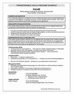 Skills For A Resume