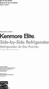 Kenmore Elite 79551822410 User Manual Refrigerator Manuals