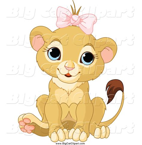 royalty  cute lion stock big cat designs
