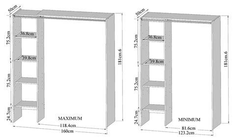 rideau chambre à coucher dressing extensible 123 160 cm colonne rideau taupe