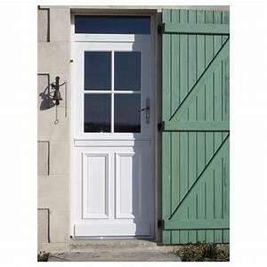 porte d 39 entr e aluminium toledo artens poussant gauche With porte d entrée aluminium castorama
