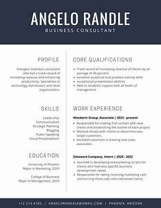 resume templates canva With canva resume