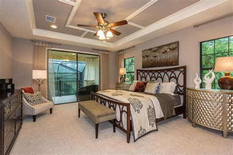 model home master bedroom pictures gray master bedroom is eclectic inviting hgtv 19204 | 1429030623146