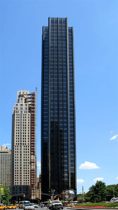 trump tower hotel international building skyscraper center figures