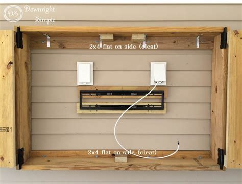 image of tv lift cabinets for flat downright simple outdoor tv cabinet