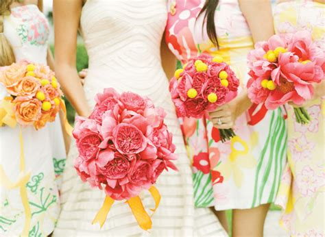 Inspired By These Citrus Orange And Pink Wedding Ideas