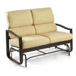 winston belvedere cushion loveseat glider outdoor sofas loveseats at hayneedle