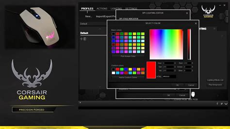 gaming in color tutorial custom sniper settings for the m65 rgb and sabre