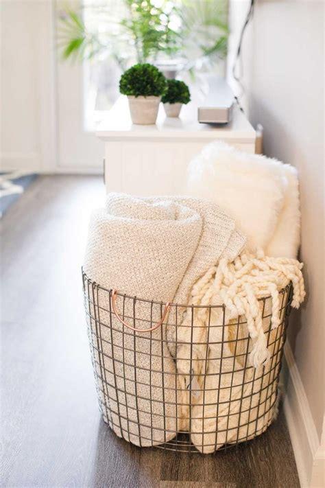 attractive ways  store blankets hunker