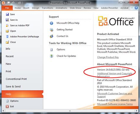 Ms Office Version by How To Make The Adobe Presenter Ribbon Appear In Microsoft