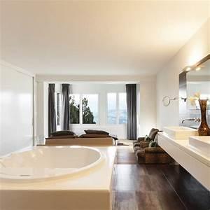 amenager une salle de bains dans la chambre marie claire With salle de bain ouverte dans chambre