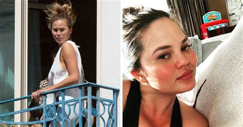 14 Pics Of Chrissy Teigen With No Makeup On | TheThings