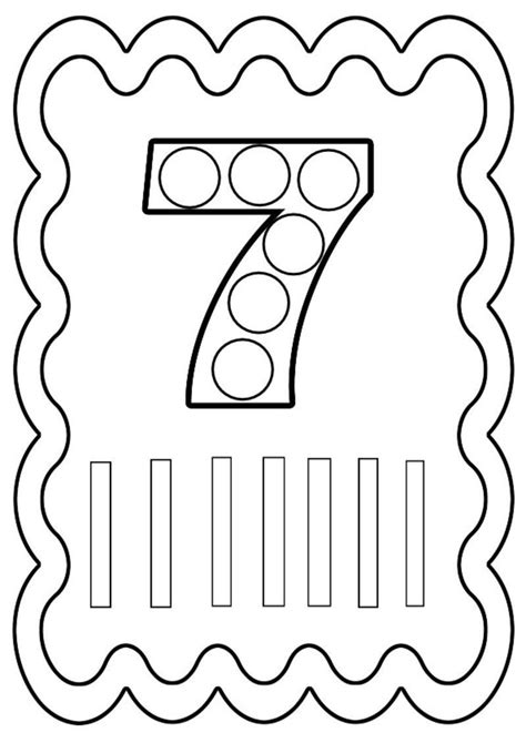 coloriage chiffre   colorier ou  gommettes