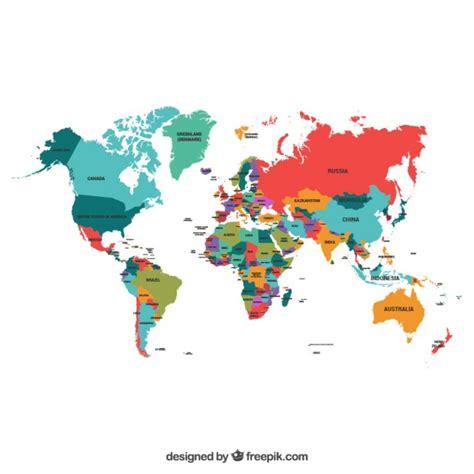 Carte Du Monde Gratuite by Carte Du Monde Vecteurs Et Photos Gratuites