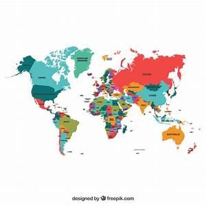 Carte Du Monde Design : carte du monde vecteurs et photos gratuites ~ Teatrodelosmanantiales.com Idées de Décoration