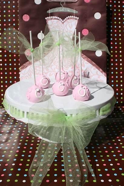 Cake Bridal Shower Pops Flavors Party Lemon