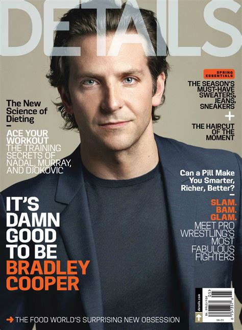 Bradley Cooper Covers Details Magazine May 2013 The