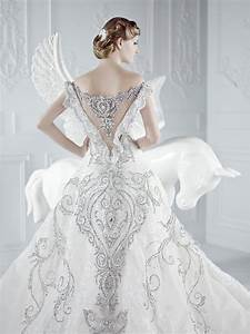 exposing beautiful back wedding dresses gown With beautiful back wedding dresses