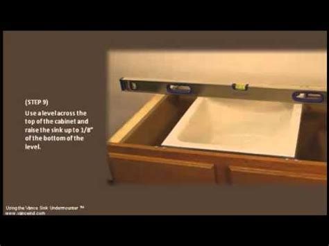undermount sink installation tool easy undermount sink installation 1 design installation