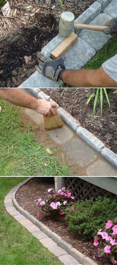 Gartenumrandung Aus Stein by 25 Garden Edges And Borders Garden Garden Edging