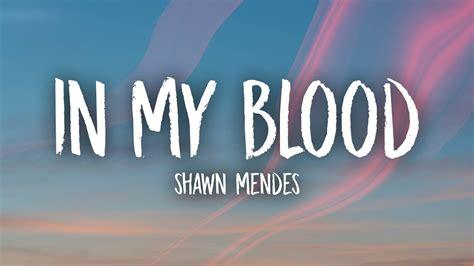In My Blood (lyrics)