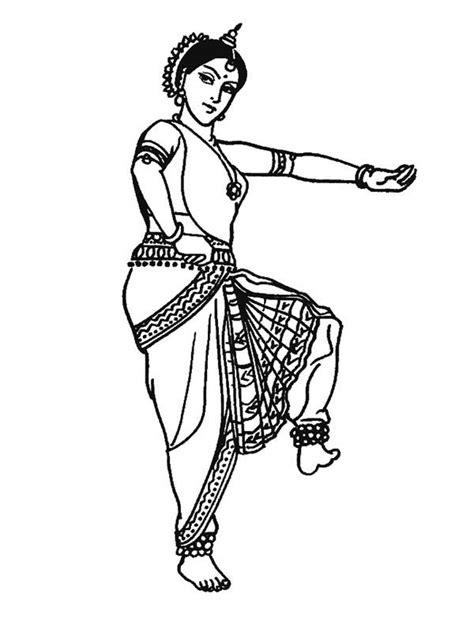 traditional dance coloring page coloring sun